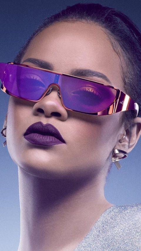 Screenshot №1 pro téma Rihanna in Dior Sunglasses 480x854