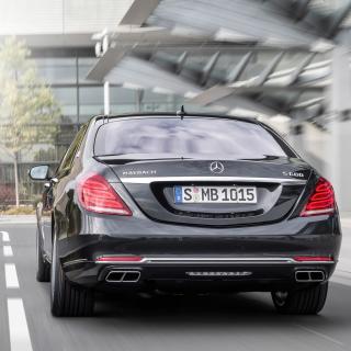 S600 Mercedes Maybach Sedan - Obrázkek zdarma pro 208x208