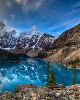 Mountain Lake - Obrázkek zdarma pro 240x432