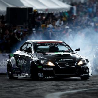 Lexus Drift - Obrázkek zdarma pro 208x208