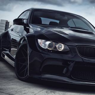 Black BMW E93 series 3 - Obrázkek zdarma pro iPad Air