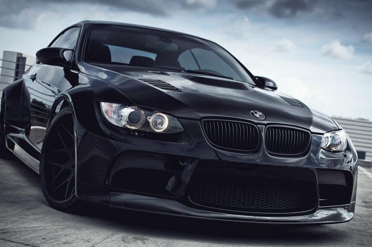 Black BMW E93 series 3 wallpaper