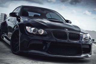 Black BMW E93 series 3 Wallpaper for Android, iPhone and iPad