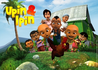 Upin & Ipin Wallpaper for Android, iPhone and iPad