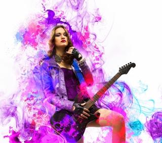 Music Girl - Obrázkek zdarma pro iPad 2