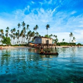 Malaysia Tropical Coast - Obrázkek zdarma pro iPad 2