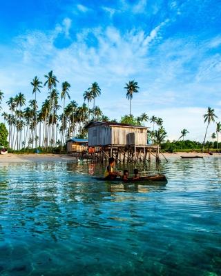 Malaysia Tropical Coast - Obrázkek zdarma pro Nokia Asha 503