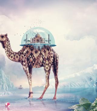 Magical Camel - Obrázkek zdarma pro Nokia Asha 305