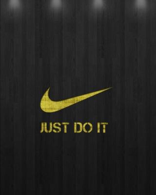 Just Do It - Obrázkek zdarma pro Nokia Asha 202