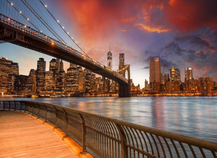 Brooklyn Bridge Wallpaper For Android, IPhone And IPad