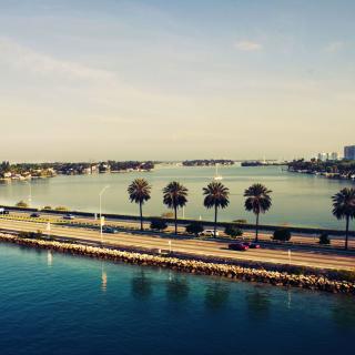 Miami Beach - Obrázkek zdarma pro 128x128