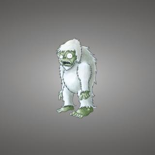 Zombie Snowman - Obrázkek zdarma pro iPad 3