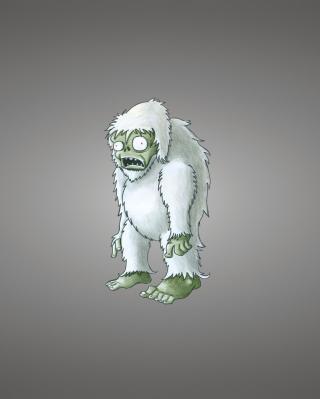 Zombie Snowman - Obrázkek zdarma pro iPhone 5