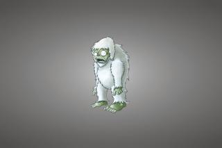 Zombie Snowman - Obrázkek zdarma pro Motorola DROID 2