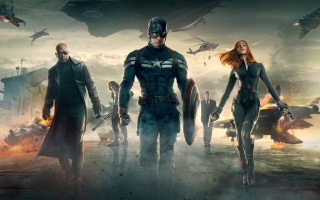 Free Captain America The Winter Soldier Movie Picture for Android, iPhone and iPad
