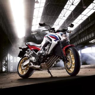 Honda CB650 Custom Motorcycle - Obrázkek zdarma pro iPad mini 2