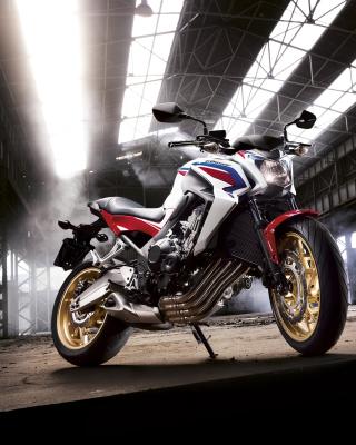 Honda CB650 Custom Motorcycle - Obrázkek zdarma pro 480x854