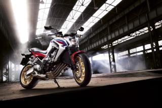Honda CB650 Custom Motorcycle - Obrázkek zdarma pro Motorola DROID