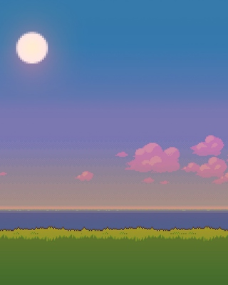 Pixel Art - Obrázkek zdarma pro Nokia C2-02