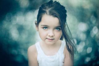 Little Pretty Girl - Obrázkek zdarma pro Samsung Galaxy Tab 3 8.0