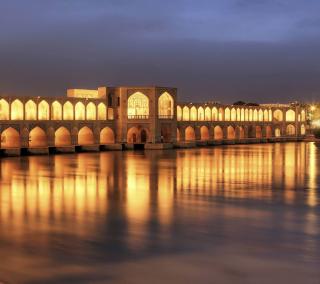Khaju Bridge - Iran - Obrázkek zdarma pro iPad 2