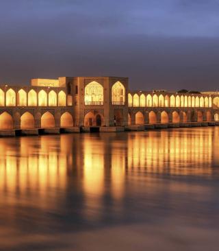 Khaju Bridge - Iran - Obrázkek zdarma pro Nokia Asha 305