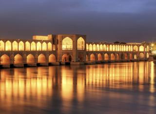 Khaju Bridge - Iran - Obrázkek zdarma pro 480x400