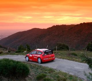 Citroen C4 WRC - Obrázkek zdarma pro iPad