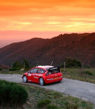 Citroen C4 WRC - Obrázkek zdarma pro 480x640