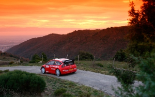 Citroen C4 WRC Wallpaper for Android, iPhone and iPad
