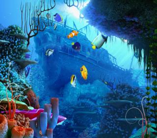 Aquarium Coral - Obrázkek zdarma pro iPad 3