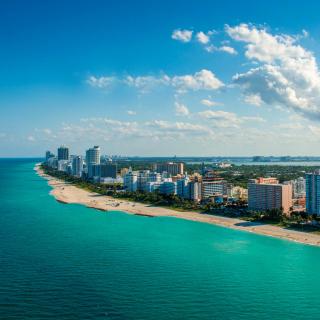 South Beach in Miami - Obrázkek zdarma pro 128x128