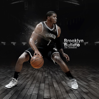 Joe Johnson from Brooklyn Nets NBA - Obrázkek zdarma pro iPad 3