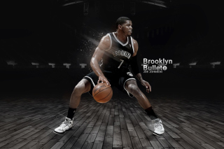 Joe Johnson from Brooklyn Nets NBA - Obrázkek zdarma pro 320x240