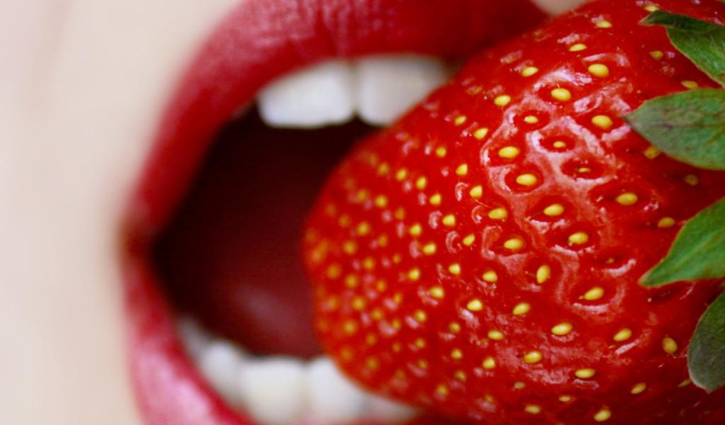 Screenshot №1 pro téma Tasty Strawberry 1024x600