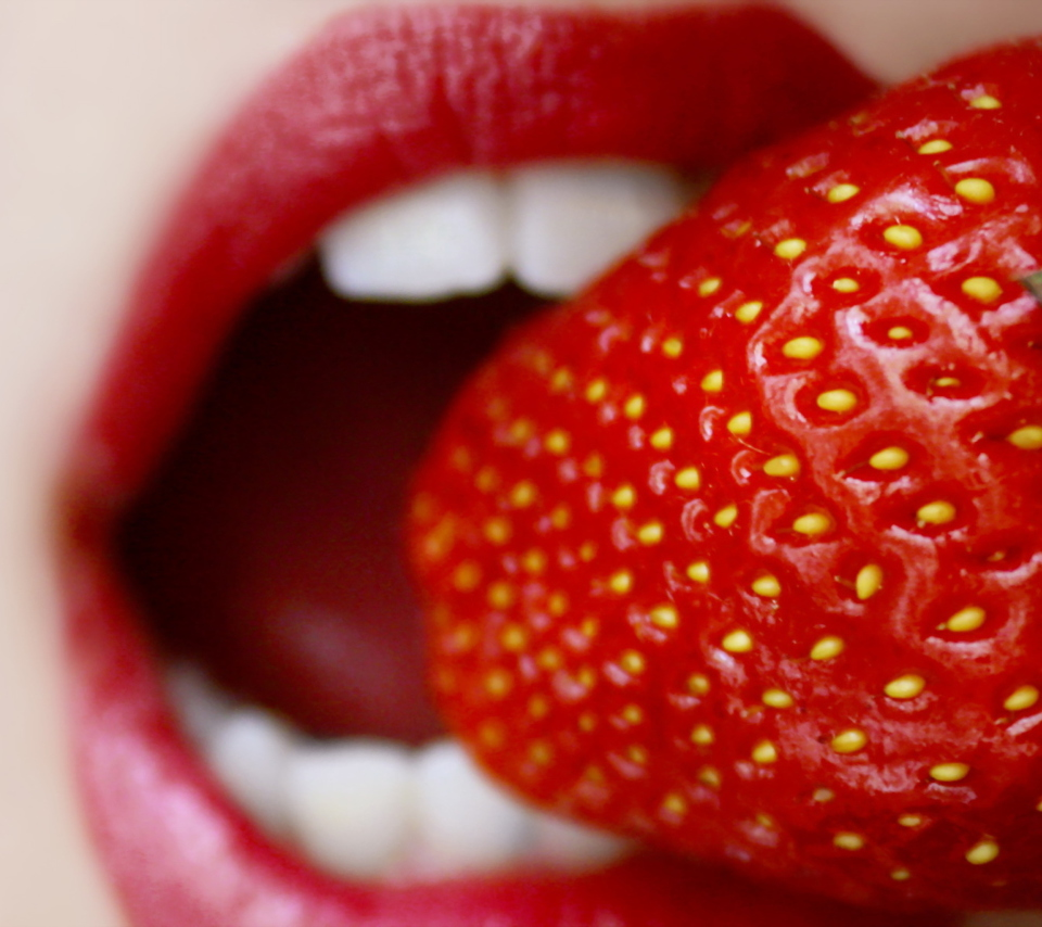 Screenshot №1 pro téma Tasty Strawberry 960x854