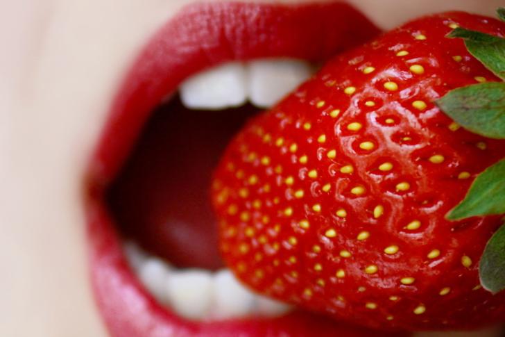 Screenshot №1 pro téma Tasty Strawberry