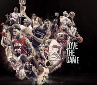 NBA, Basketball, Miami - Obrázkek zdarma pro 128x128