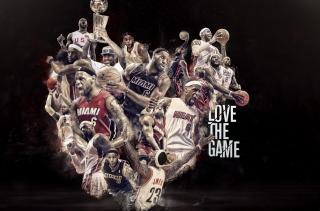 NBA, Basketball, Miami - Obrázkek zdarma pro Fullscreen 1152x864