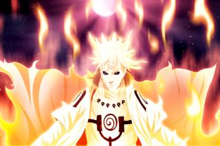 Namikaze Minato, Uzumaki Naruto - Obrázkek zdarma pro Sony Tablet S