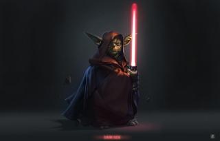 Yoda - Star Wars - Obrázkek zdarma pro 1400x1050