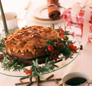 Almond Chocolate Torte - Obrázkek zdarma pro 320x320