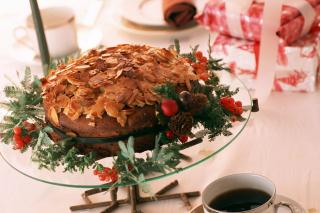 Almond Chocolate Torte - Obrázkek zdarma pro 1152x864