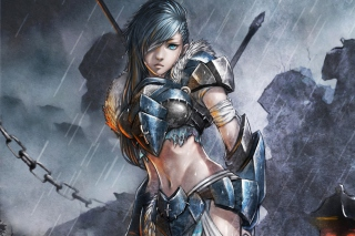 Free Woman Warrior Picture for Android, iPhone and iPad