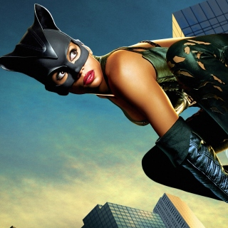 Catwoman Halle Berry - Obrázkek zdarma pro 128x128