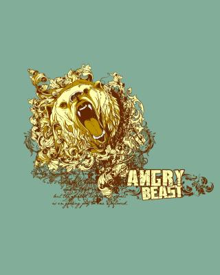 Angry Beast - Obrázkek zdarma pro Nokia X2-02