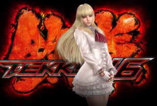 Emilie De Rochefort - Tekken - Obrázkek zdarma pro Nokia Asha 201