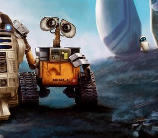 Cute Wall-E - Obrázkek zdarma pro iPad Air