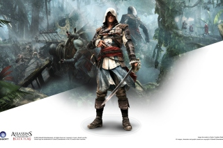 Assassins Creed Black Flag Game - Obrázkek zdarma pro Samsung Google Nexus S