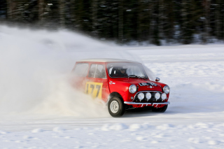 Winter Autosport Background for Android, iPhone and iPad